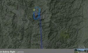 Site de monitoramento divulga informações sobre últimos momentos do avião da Chapecoense