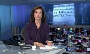 Comitê de Política Monetária do Banco Central decide reduzir a taxa básica de juros