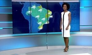 Sexta-feira (2) pode ser de muita chuva em diversas partes do país