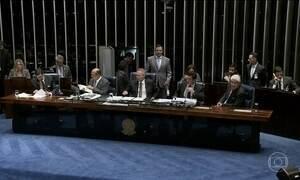 Senadores, Gilmar Mendes e Sérgio Moro discordaram sobre projeto