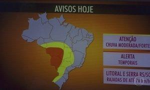 Semana termina com muita instabilidade em Mato Grosso do Sul