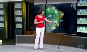 Previsão é de chuva forte em São Paulo