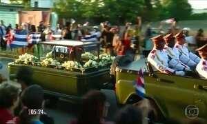 Cinzas do ditador cubano são enterradas em Santiago de Cuba