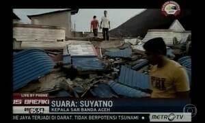 Terremoto atinge a Indonésia e deixa mais de 50 mortos