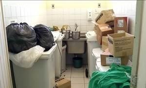 Hospital de referência no RN deixa de receber pacientes por causa da sujeira
