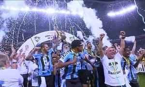 Grêmio é campeão da Copa Brasil