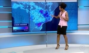 Confira a previsão do tempo para a sexta-feira (9)