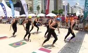 Desafio Rei e Rainha do Mar movimenta a praia mais famosa do Brasil