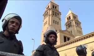 Bomba detonada em capela mata 25 pessoas no Egito