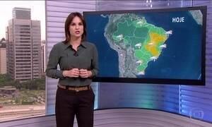 Veja a previsão do tempo para esta quinta-feira (22) em todo o Brasil