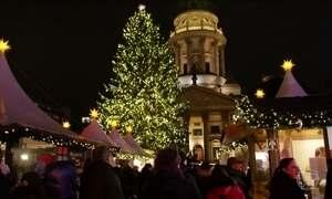 Moradores de Berlim não deixam de celebrar Natal após atentado