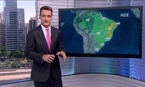 Frente fria pode causar temporais no Rio Grande do Sul