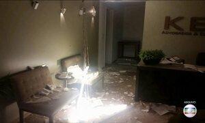 Presos os suspeitos de enviar bomba para um escritório de advocacia