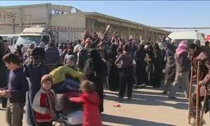 Começa um cessar-fogo entre rebeldes da oposição e governo da Síria
