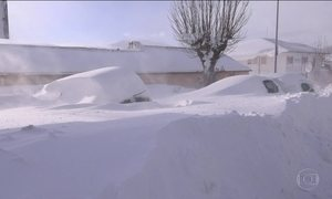 Onda de frio intenso atinge várias partes da Europa