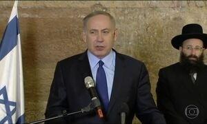 Política de Netanyahu ganha força após palestino matar israelenses