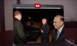 Michel Temer chega a Portugal para participar do funeral de Mario Soares