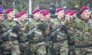 EUA e aliados reforçam fronteiras na Europa contra possíveis ataques russos