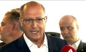 Geraldo Alckmin suspende aumento no preço do bilhete integração