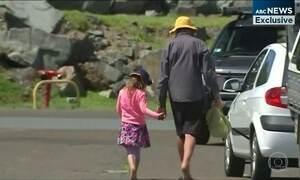 Pai e filha dados como desaparecidos no mar chegam na Austrália