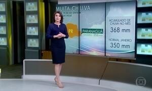 Chuva atinge cidades do Paraná; veja a previsão