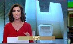 Bolsa de São Paulo opera em alta