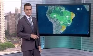 Veja a previsão do tempo deste fim de semana para todo o Brasil