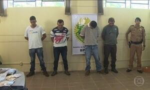 Fugitivos morrem após tiroteio com a polícia no PR