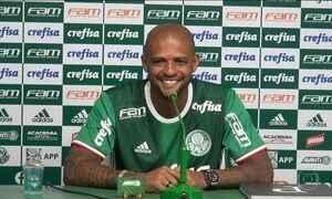 Felipe Melo é apresentado pelo Palmeiras