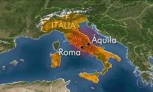 Itália tem dois terremotos nesta quarta (18)