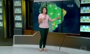 Confira a previsão do tempo para esta sexta-feira (3)