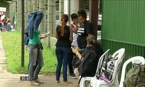 Familiares de policiais protestam no Pará