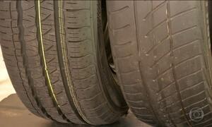 Borracharias são flagradas frisando pneu, uma economia que pode sair cara para o consumidor