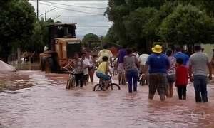 Temporal deixa desabrigados no interior de Mato Grosso