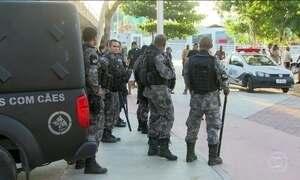 Tropas das Forças Armadas chegam ao Rio para reforçar policiamento