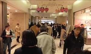 Japoneses copiam dos americanos o calendário do Dia dos Namorados