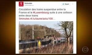 Acidente de trem em Luxemburgo deixa quatro feridos
