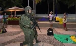 Fuzileiros navais já ocupam o Rio em medida preventiva