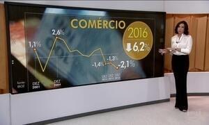 Comércio fecha dezembro com o pior resultado desde 2001
