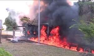 Onda de ataques a ônibus na Grande Belo Horizonte assusta moradores