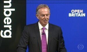Tony Blair faz campanha para impedir Brexit