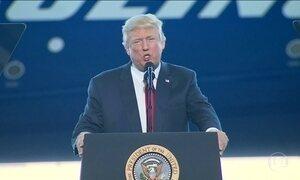 Trump completa quatro semanas na presidência