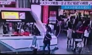 Redes de TV reproduzem imagens que seriam do assassinato do meio-irmão do ditador Kim Jong-il