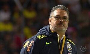 CBF demite Rogério Micale do cargo de técnico da Seleção Brasileira sub-20