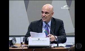 CCJ do Senado aprova Alexandre de Moraes para o STF