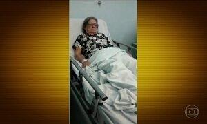 Morte de idosa na porta de hospital em Jundiaí (SP) é investigada