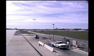 Aeroporto na Califórnia divulga imagens do pouso arriscado que o ator Harrison Ford fez