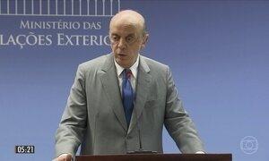 Ministro José Serra pede para deixar o cargo