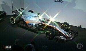 Force Índia apresenta o carro que disputará a Fórmula 1
