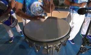 Mistura de ritmos é a atração no desfile das Escolas de Samba do Rio